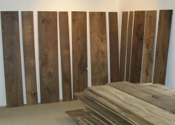 Original antique oak flooring for reclamation, ready to lay