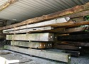 Oak beams of long lengths, cross-sections and other special requirements